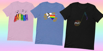 Shop Fan-Designed Pride Month Shirts Benefitting The Trevor Project and The Trans Lif Photo