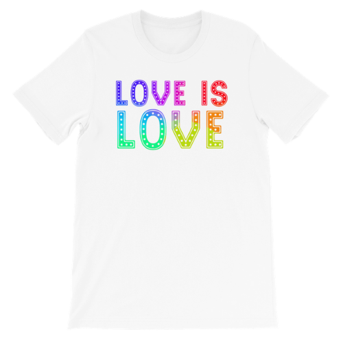 Shop Fan-Designed Pride Month Shirts Benefitting The Trevor Project and The Trans Lifeline!