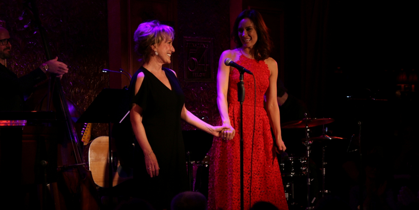 VIDEOS: Get Ready For Laura & Linda Benanti on THE SETH CONCERT SERIES Photo