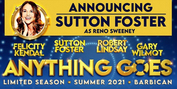 Sutton Foster to Replace Megan Mullally in ANYTHING GOES in the West End Photo