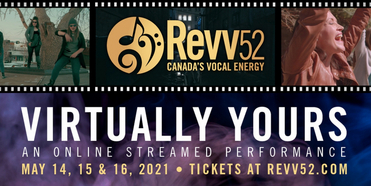 Revv52 Pop/Rock Ensemble presents: VIRTUALLY YOURS Streaming Concert Photo