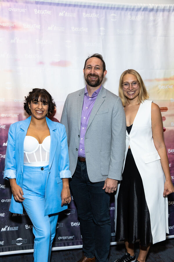 """""""Fever"""" Composers Rebecca Murillo and Rob Rokicki and Director Emily Maltby Photo"""