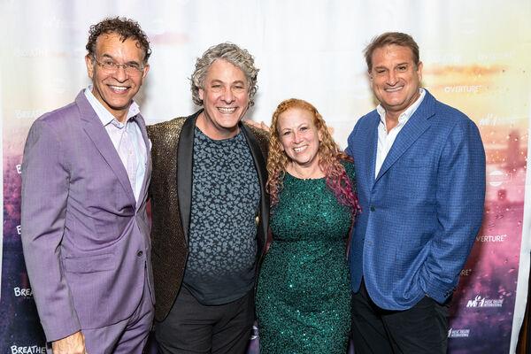 Brian Stokes Mitchell, Timothy Allen McDonald, Jodi Picoult and Jeff Calhoun Photo