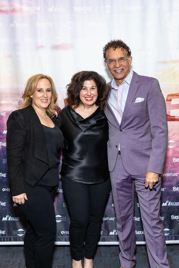 Zina Goldrich, Marcy Heisler and Brian Stokes Mitchell  Photo