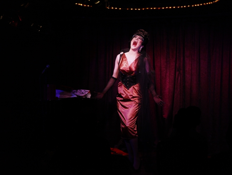 BWW Review: GLORIA SWANSONG & MAXIE FACTOR: A NIGHT OF ESCAPE at Don't Tell Mama