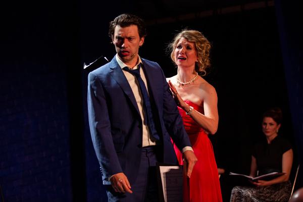 Bryce Pinkham & Scarlett Strallen Photo