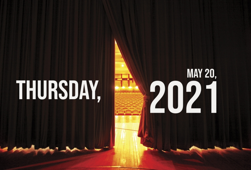 Virtual Theatre Today: Thursday, May 20- Oli Higginson, Molly Lynch, and More!