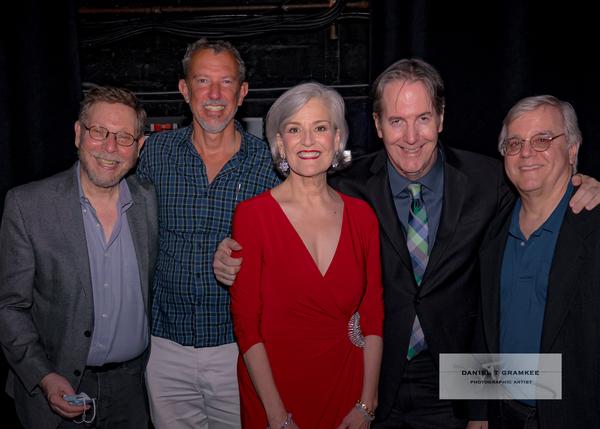 Barry Kleinbort, Alex Fraser, Karen Mason, Christopher Denny, Paul Rolnick Photo