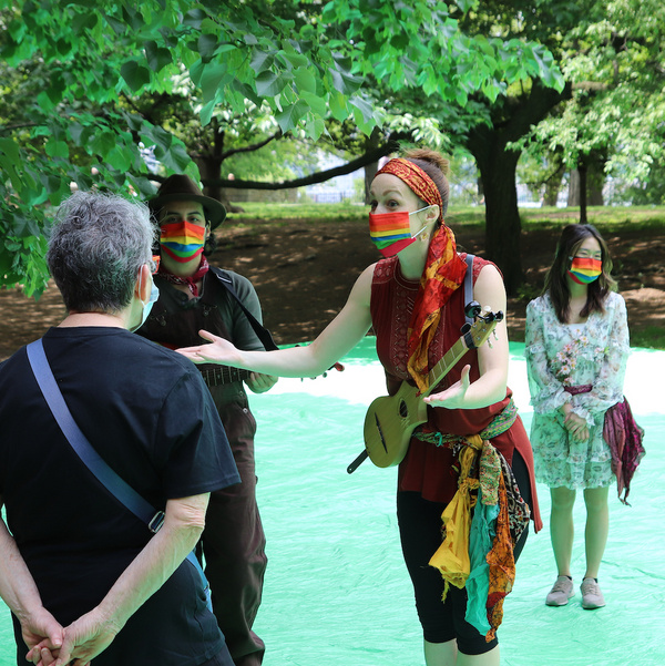 Photo Flash: First Look at Prospect Theater Company's Interactive TREE TALES on May 22