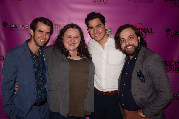 Bobby Allan, Nicole Delsack, Chris Clark and Jimmy Robertson  Photo