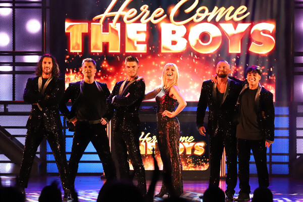Photos: Check Out Production Shots From HERE COME THE BOYS Opening Tonight at The London Palladium