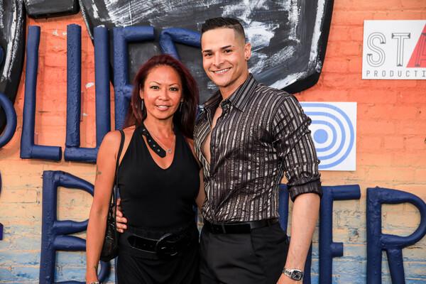 Kristine Bendul and Waldemar Quinones-Villanue… Tricia Baron Photo