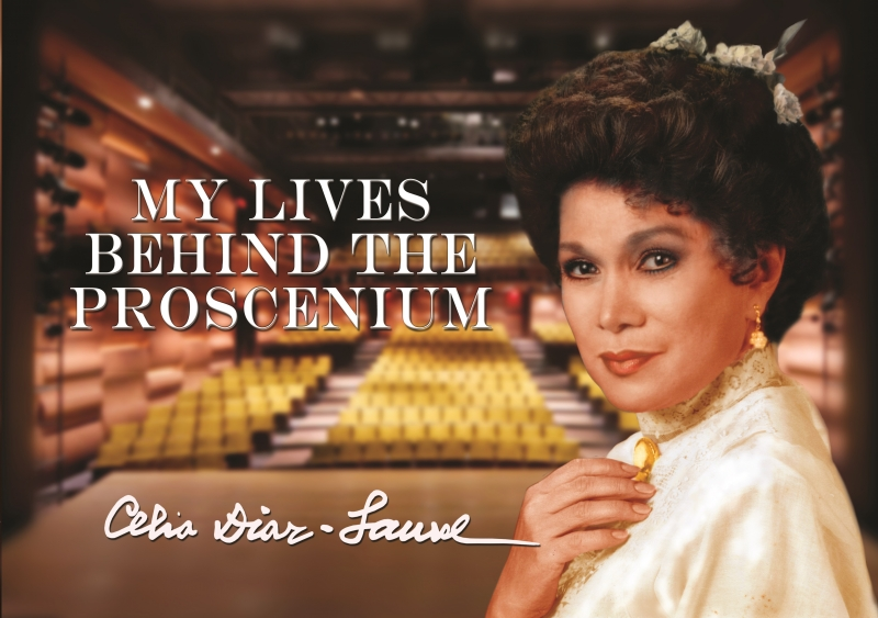 Celia Diaz Laurel's Coffee-table Book MY LIVES BEHIND THE PROSCENIUM Launches Today, May 29