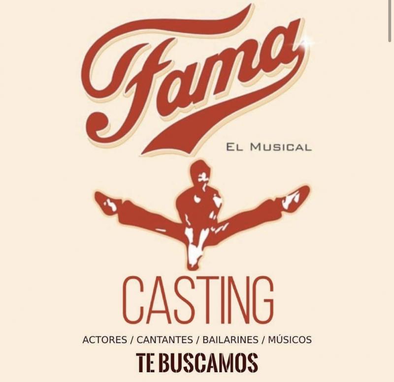 CASTING CALL: Se abre la convocatoria para FAMA EL MUSICAL en Barcelona