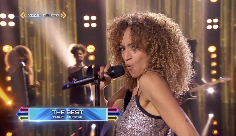 VIDEO: Kery Sankoh canta 'Simply The Best' de TINA EL MUSICAL en TOP STAR
