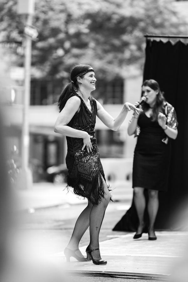 Photos: Guilty Pleasures Cabaret Dazzles NYC Streets with  SIDEWALK SPEAKEASY