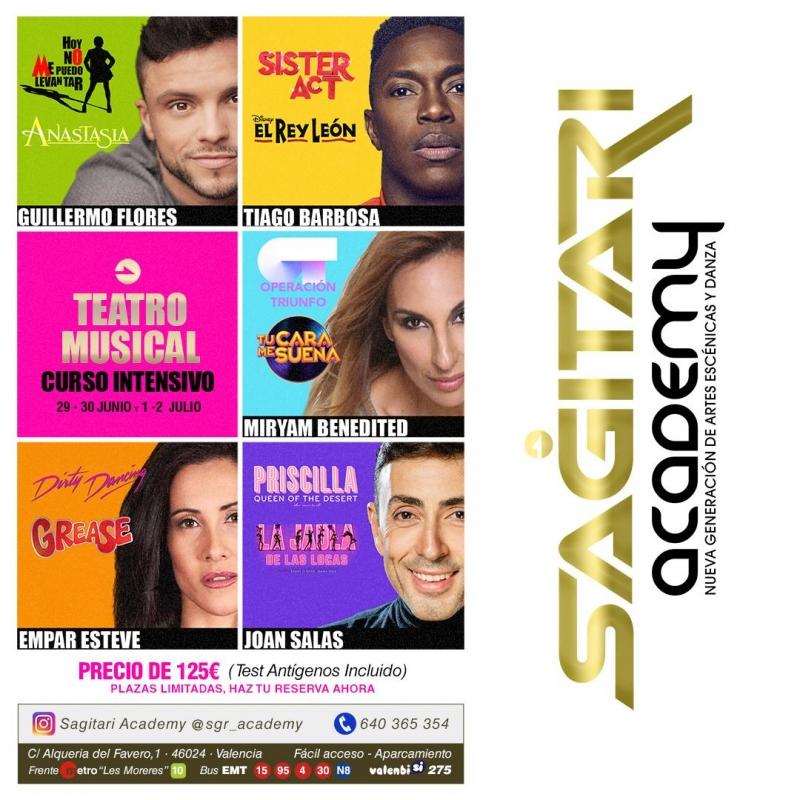 SGR Academy ofrece un curso de Teatro Musical en Valencia