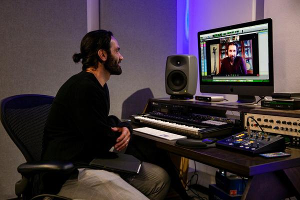 Photos: Ramin Karimloo In Studio To Record Johanna Telander's KALEVALA THE MUSICAL