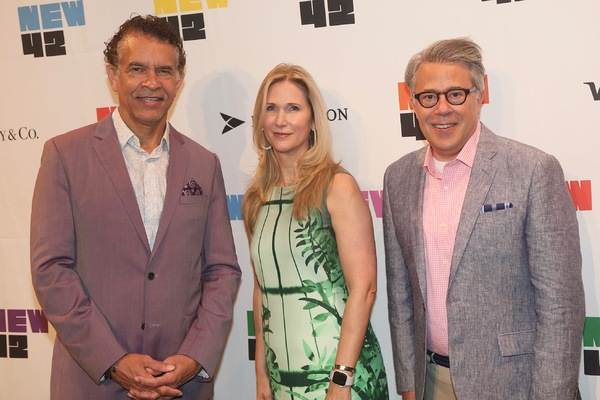Brian Stokes Mitchell, Fiona Howe Rudin, Russell Granet Photo