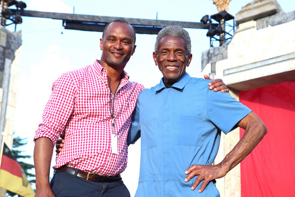 KING LEAR Director Carl Cofield and Andre De Shields Photo