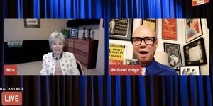 Rita Moreno Visits Backstage LIVE with Richard Ridge- Watch Now! Video