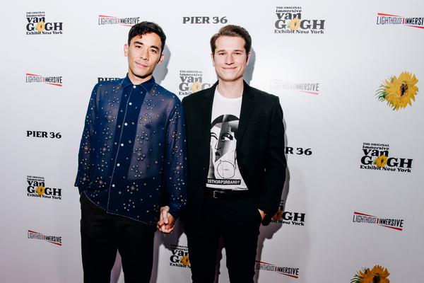 Conrad Ricamora and Joshua Cockream Photo