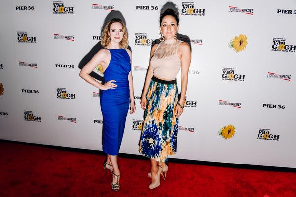 Samantha Sturman and Jennifer Sanches Photo