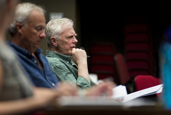 Photos: In Rehearsal For A COLD SUPPER BEHIND HARRODS at Oxford Playhouse