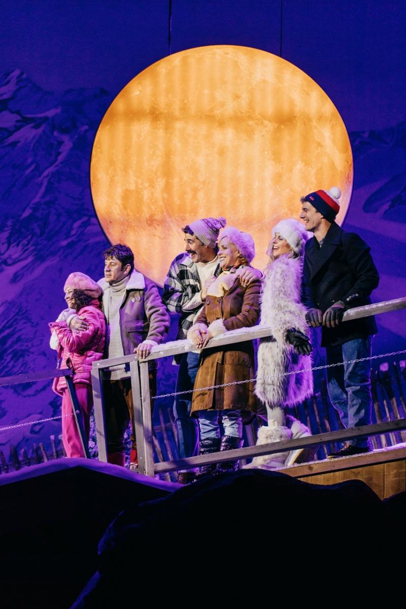 El Teatro del Soho Caixabank presenta EN LA PISTA