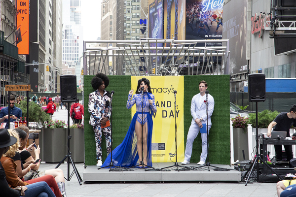 Photos: Inside BRAND NEW DAY in Times Square, Celebrating New York City's Reopening