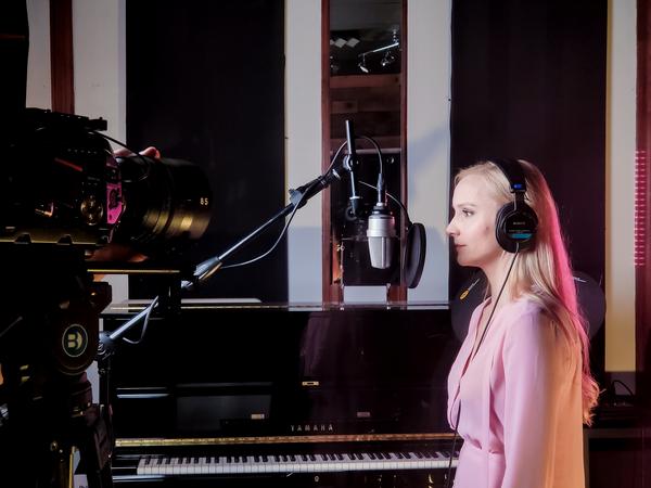 Photos: Johanna Telander, Kristi Roosmaa, and Quentin Garzón Head Into The Studio For KALEVALA THE MUSICAL Recording Session