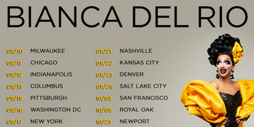Bianca Del Rio Adds More Shows To UNSANITIZEDComedy Tour This Fall Photo