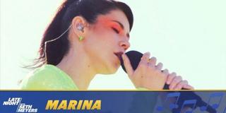 VIDEO: MARINA Performs 'Venus Fly Trap' Photo