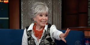 Rita Moreno Talks Finding Her Role Model in WEST SIDE STORY! Video