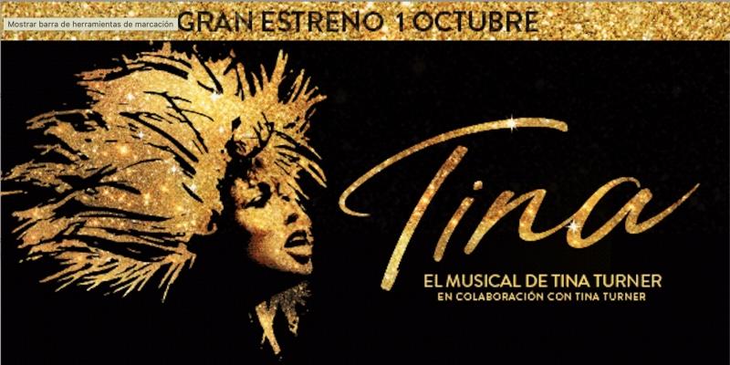 Se anuncia el reparto de TINA EL MUSICAL en Madrid