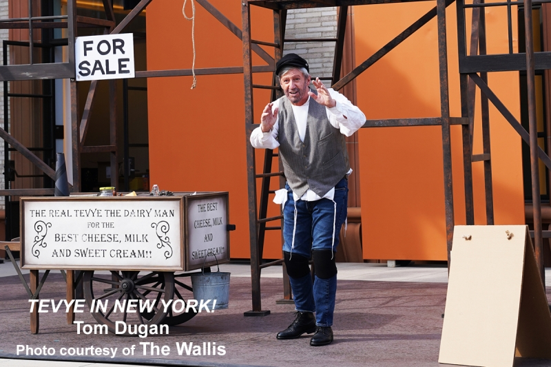 BWW Interview: From WIESENTHAL to TEVYE: The Unstoppable, Energizing Tom Dugan