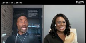 Billy Porter & Uzo Aduba Have an 'Actors on Actors' Conversation! Video