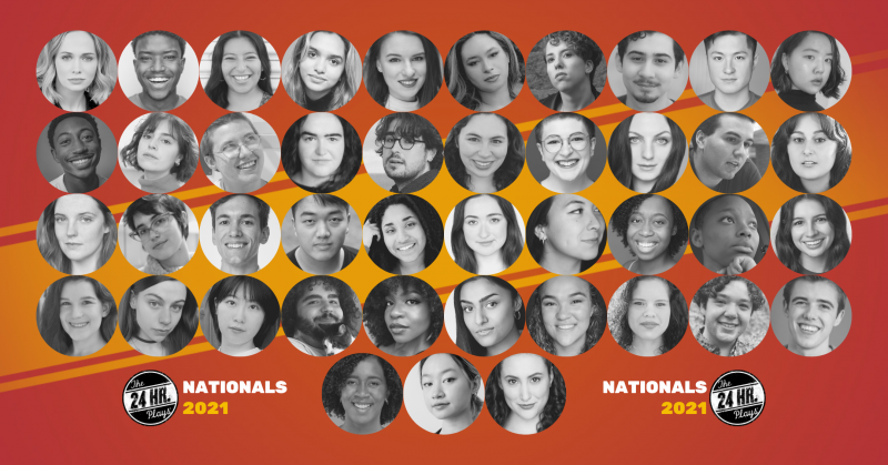 THE 24 HOUR PLAYS Announces Line-Up for Nationals 2021