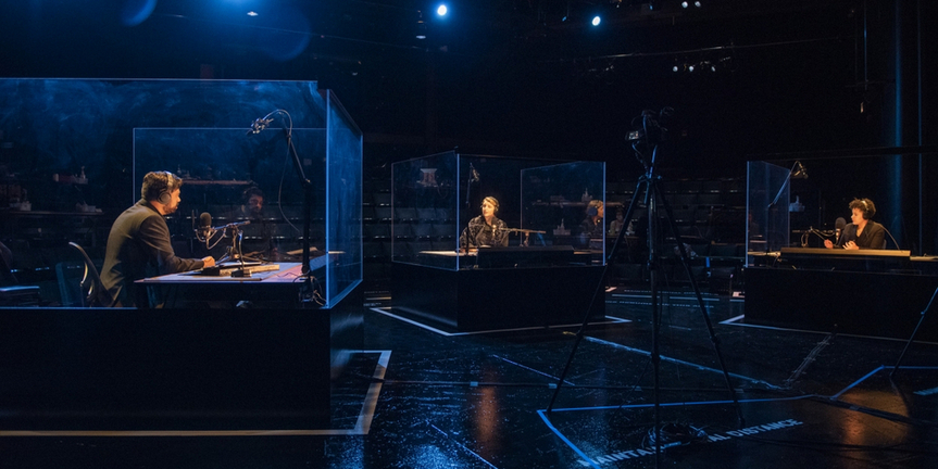 BWW Review: TITANIC (SCENES FROM THE BRITISH WRECK COMMISSIONER'S INQUIRY, 1912) at Court Photo
