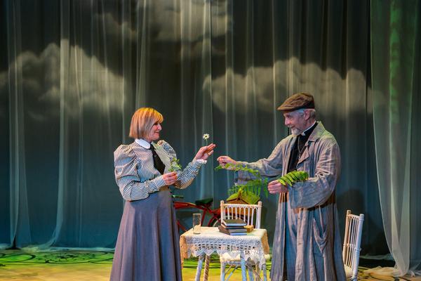 Corinna May and David Adkins  Photo