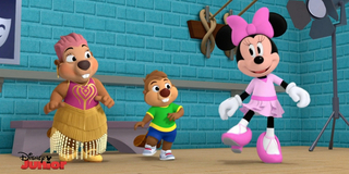 BWW Exclusive: Minnie Mouse Teaches Leslie Uggams' Nana Beaver to Tap Dance on MINNIE'S BO Photo