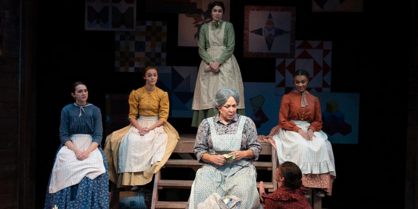 BWW Review: QUILTERSproves to be a pleasant way to bring back live theater to Porthouse Photo
