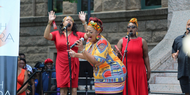 Fort Worth Opera and Unity Unlimited Celebrate Juneteenth With 94-Year-Old Social Impact L Photo