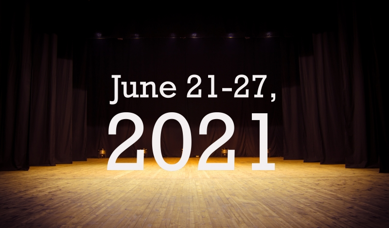 Virtual Theatre This Week: June 21-27, 2021- with Kate Reinders, Amanda Kloots, and More!