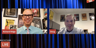VIDEO: New York Public Library's Doug Reside Visits Backstage LIVE with Richard Ridge- Wat Photo
