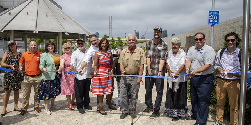 Newtown Creek Nature Walk Doublesin Length to Provide Uninterrupted Public Access To Wate Photo
