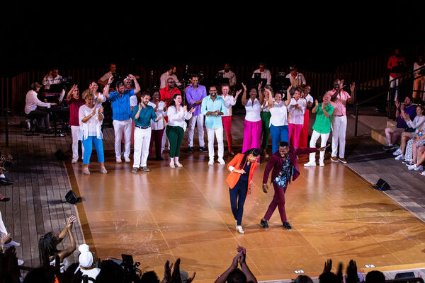 Photos: See Norm Lewis, Jennifer Nettles, Phylicia Rashad & More at Broadway Inspirational Voices' Little Island Concert