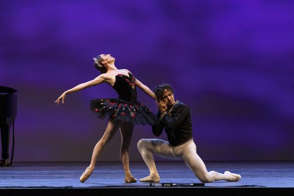 Tiler Peck and Roman Mejia  Photo
