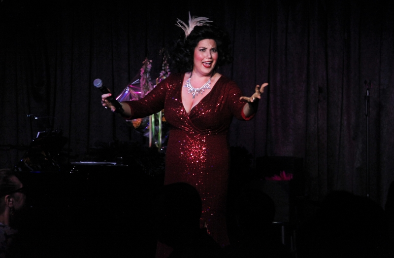 """BWW Review: Leanne Borghesi Answers The Question, """"Where The Hell Has She Been?"""" With BORGHESI'S BACK! At Don't Tell Mama"""