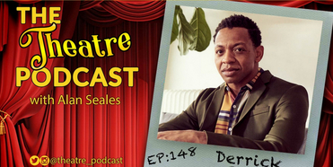 AIN'T TOO PROUD Star Derrick Baskin Stops By THE THEATRE PODCAST with Alan Seales Photo